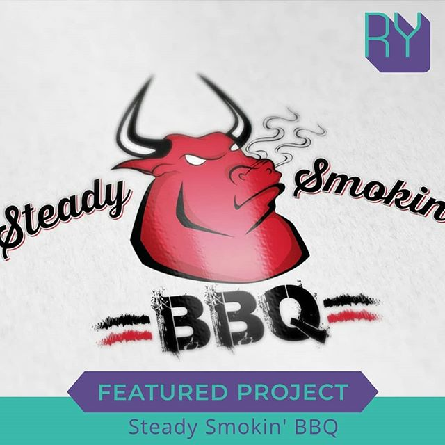 Featured Project: Steady Smokin' BBQ logo and brand
