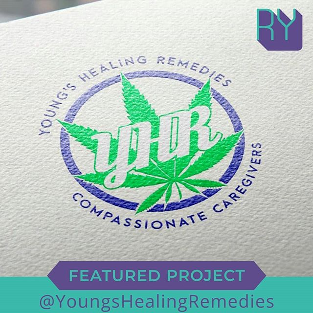 FEATURED PROJECT: Young's Healing Remedies logo design