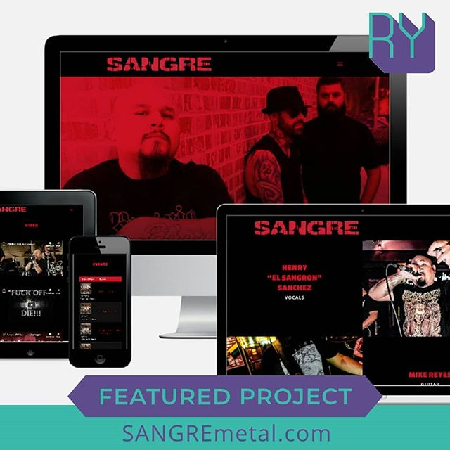 Featured Project: SANGREmetal.com